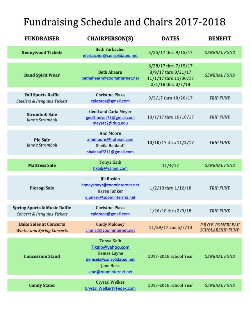 Fundraising Schedule and Chairs 2017-2018 JPEG
